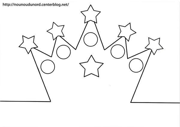 Couronne des rois imprimer dia de reis pinterest - Decoration couronne des rois ...