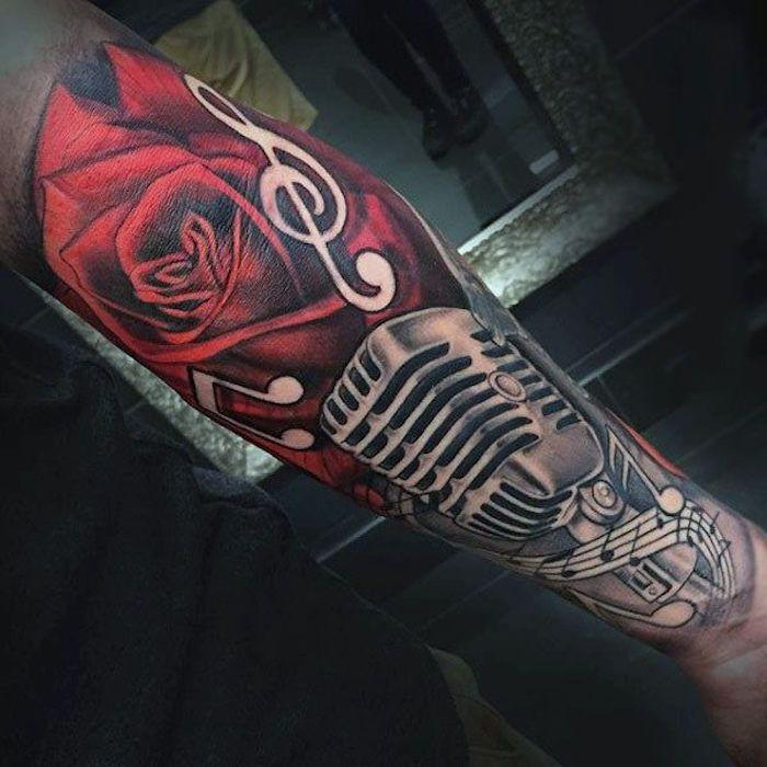 pin noten stern tattoo - photo #31