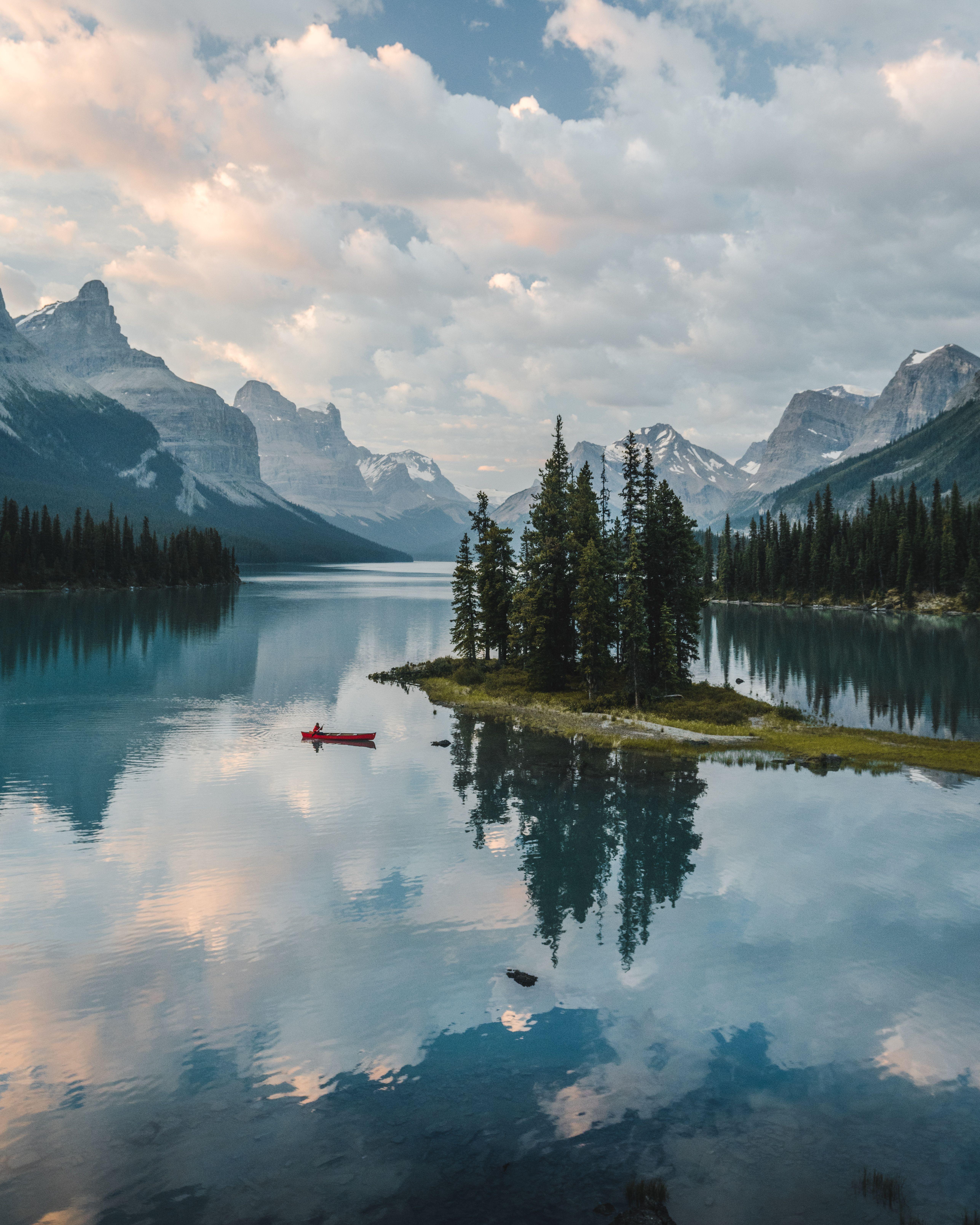 Dreamy Canadian Lake Mountain Landscape Photography Mountain Photography Canada Photography