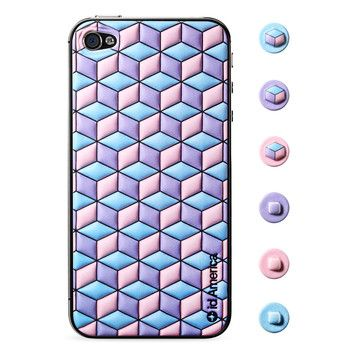 $11 Cubic Pink iPhone 4/4S Foam Pad now featured on Fab. / http://fab.com/sale/9968/product/205405/