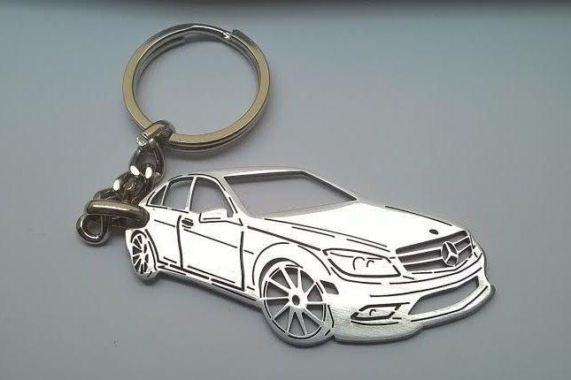 mother's day gift, Mercedes keychain, mercedes benz keychain
