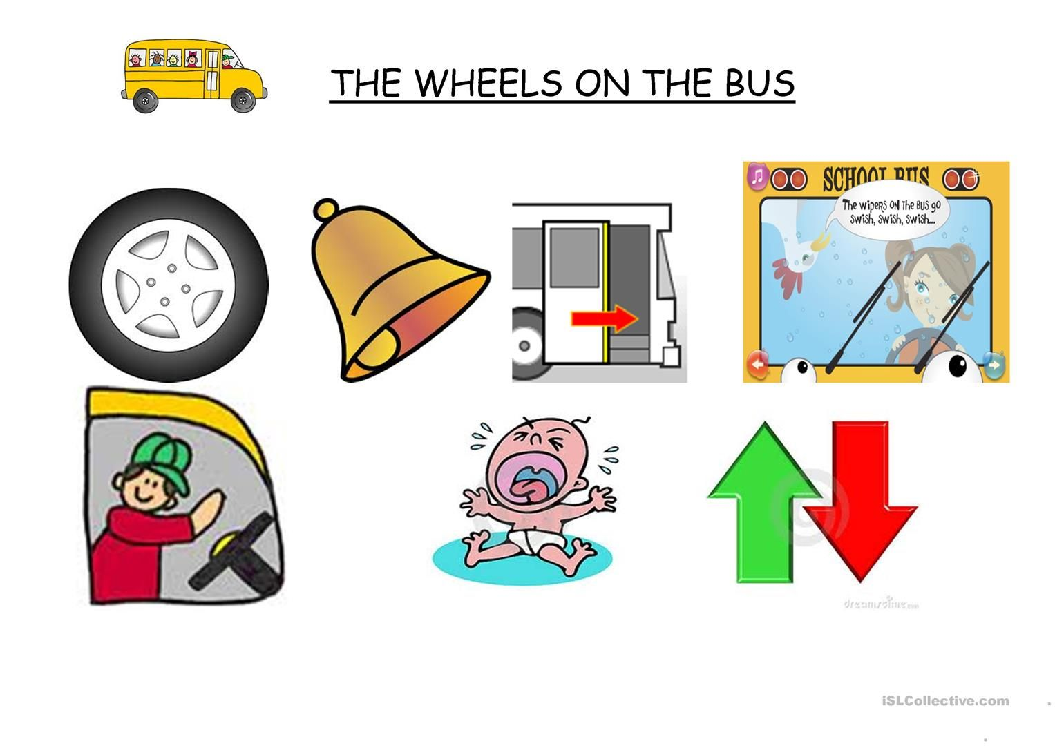The Wheels On The Bus With Images