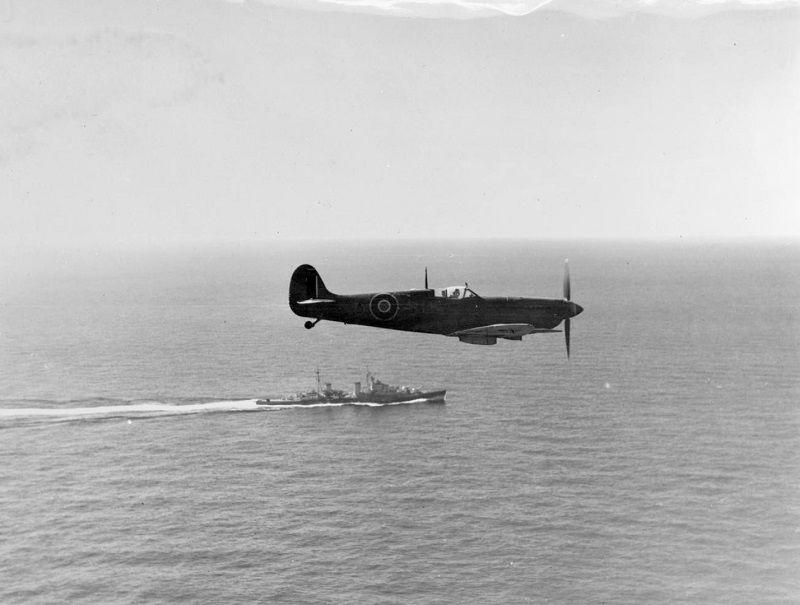 Spitfire Design Royal Air Force RAF100 Official Metal Magnet