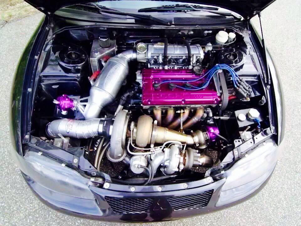 Mitsubishi Eclipse 2G 4G63 | Cars | Pinterest