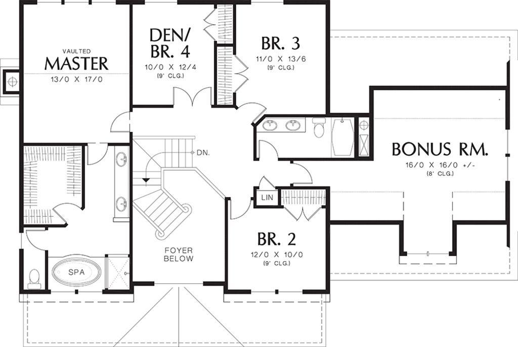 Farmhouse Style House Plan 4 Beds 2.5 Baths 2500 Sq/Ft