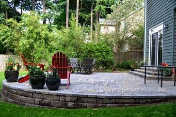 Sloped Yard Design Ideas Pictures Remodel And Decor Sloped Backyard Sloped Yard Patio Projects