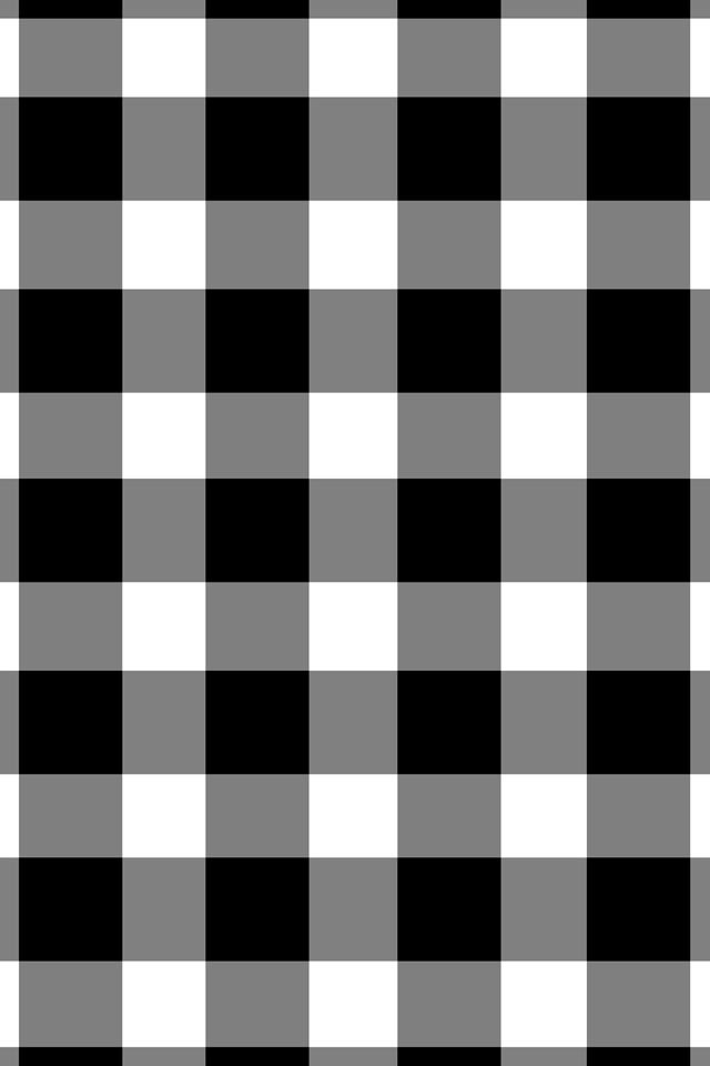 Black and white checkerboard Apple watch wallpaper
