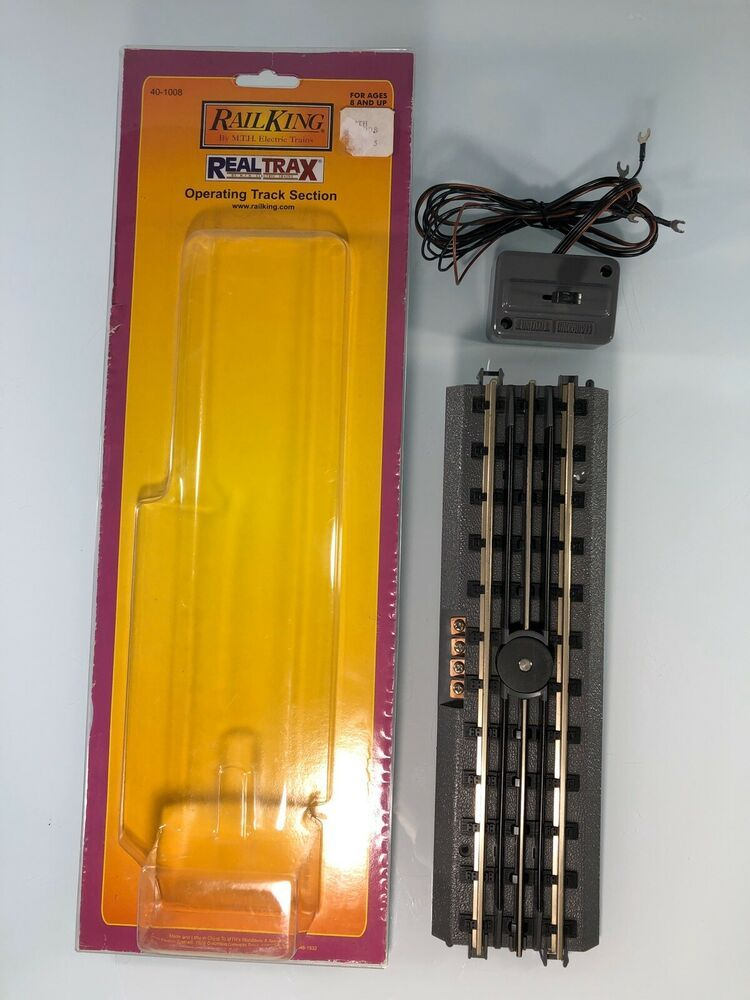 MTH 40-1008 RealTrax Uncoupling//Unload Track Section