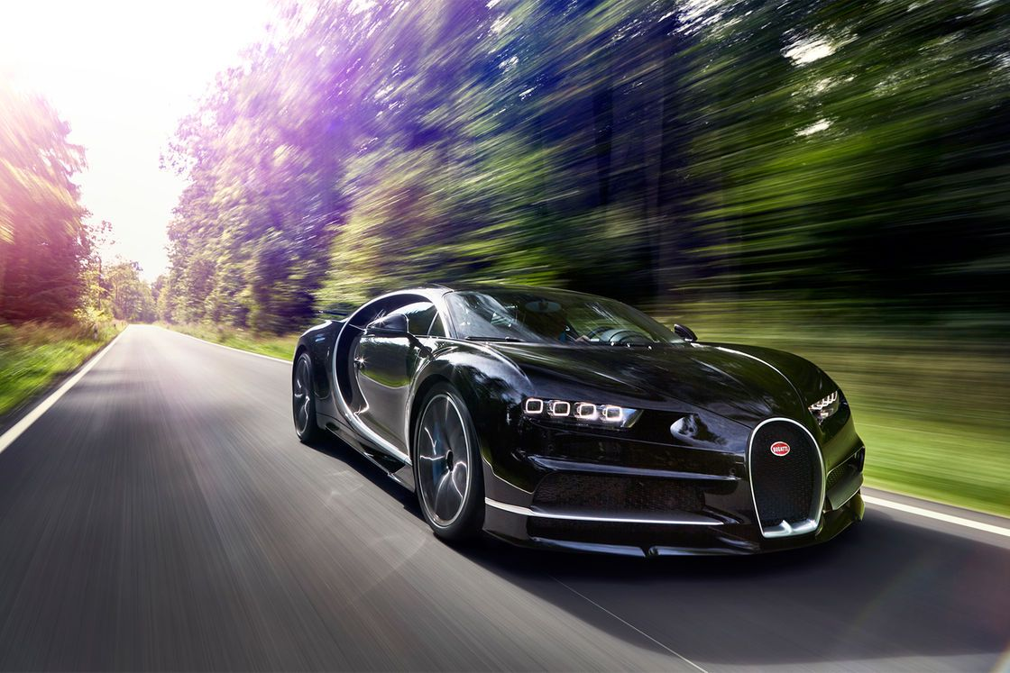 A hair-raising ride on the autobahn in the Bugatti Chiron