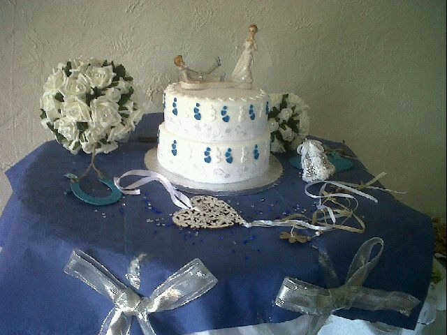 not bad for a first attempt at a wedding cake