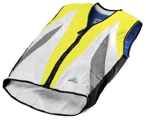 Hyperkewl 6530 Hv M Evaporative Cooling Vest Hi Visibility Lime
