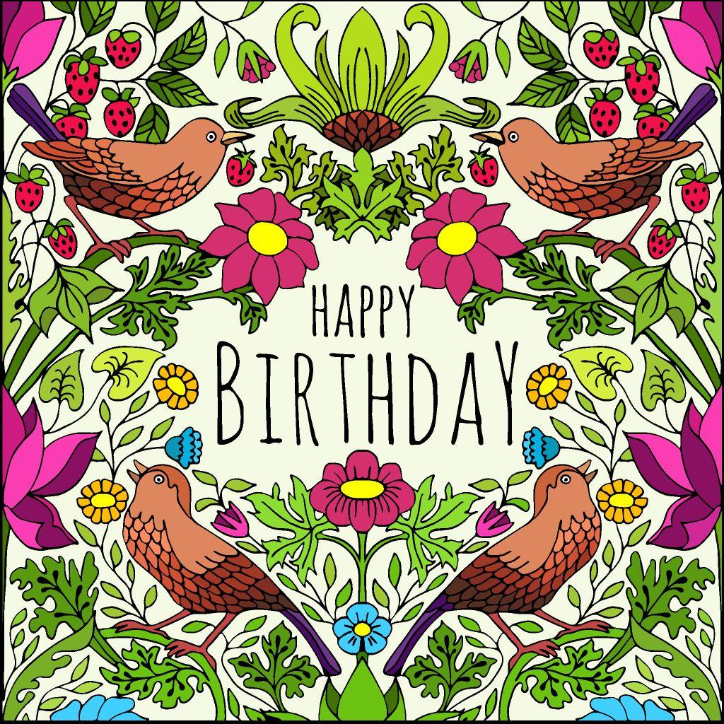 Happy Early Birthday Julia Happy Birthday Birds Happy Early Birthday Happy Bird Day