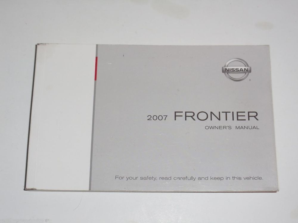 Nissan Frontier Manual 2007 For Sale Manual Guide
