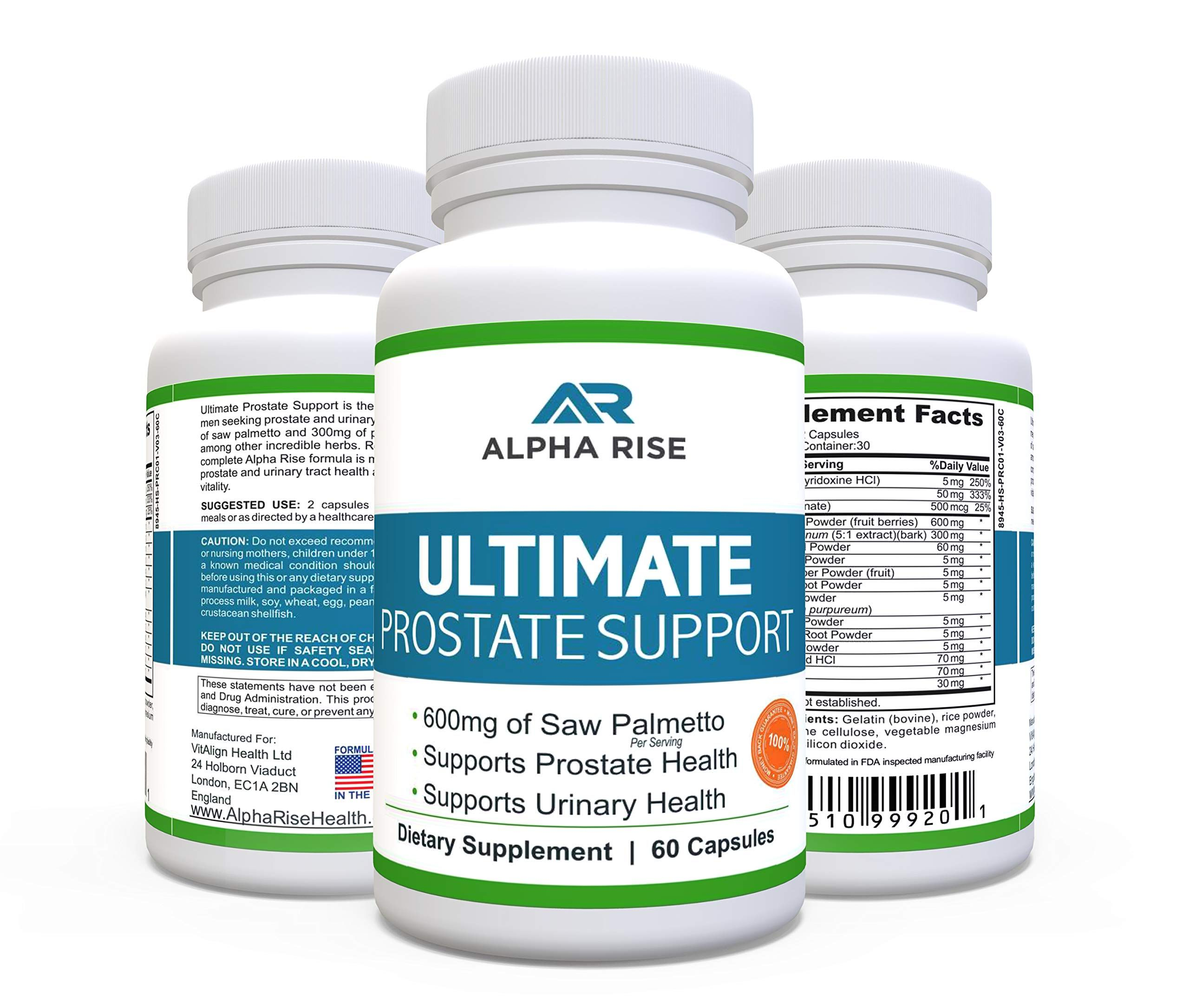 TOP RATED Prostate Supplement Infection in 2020 | Herbal vitamins, Health  supplements, Health