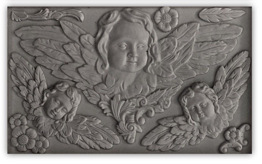 Classical cherubs 610 decor moulds iron orchid designs