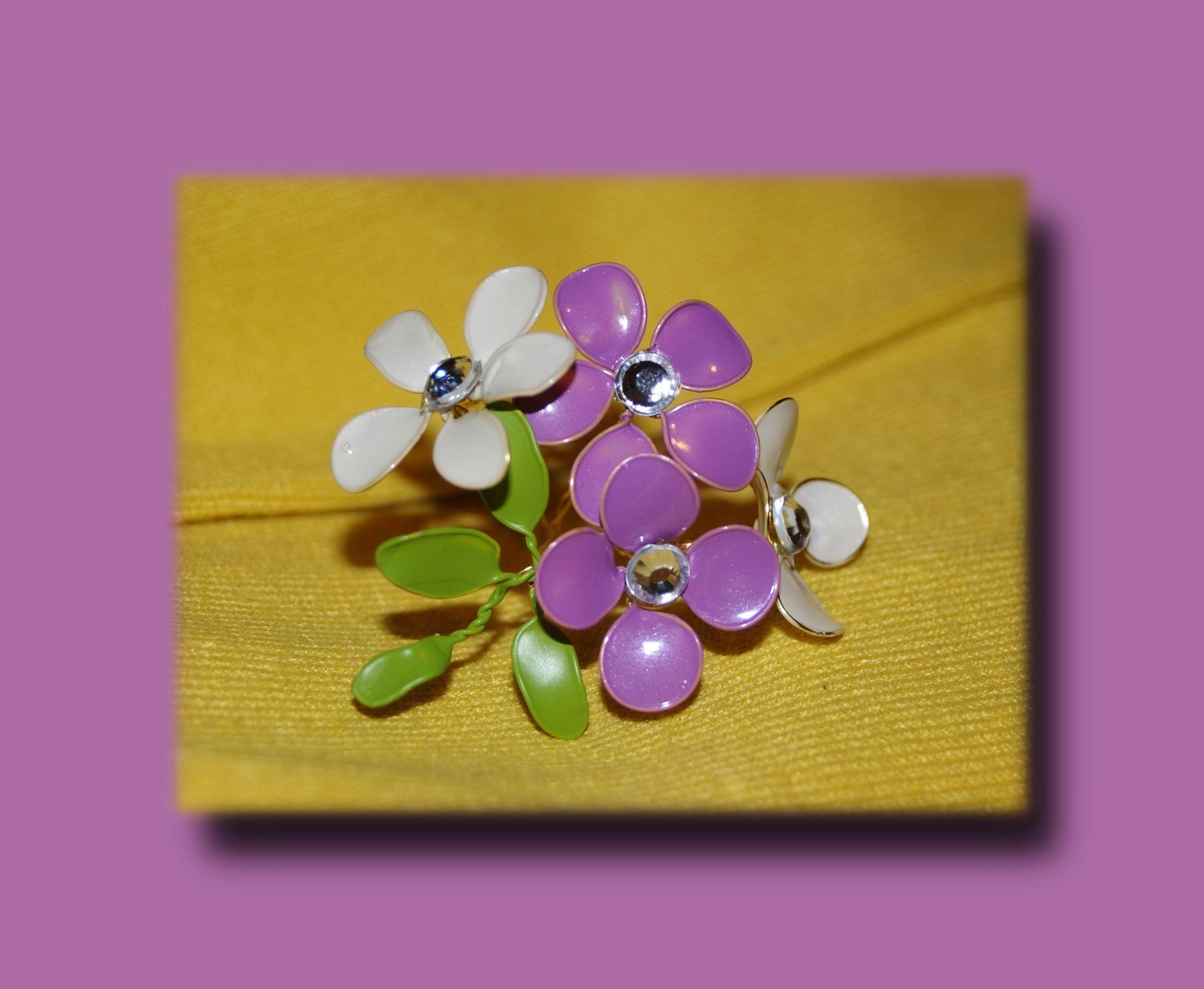 Цветы с проволокой