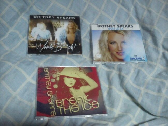 #BritneySpears #CDSingles