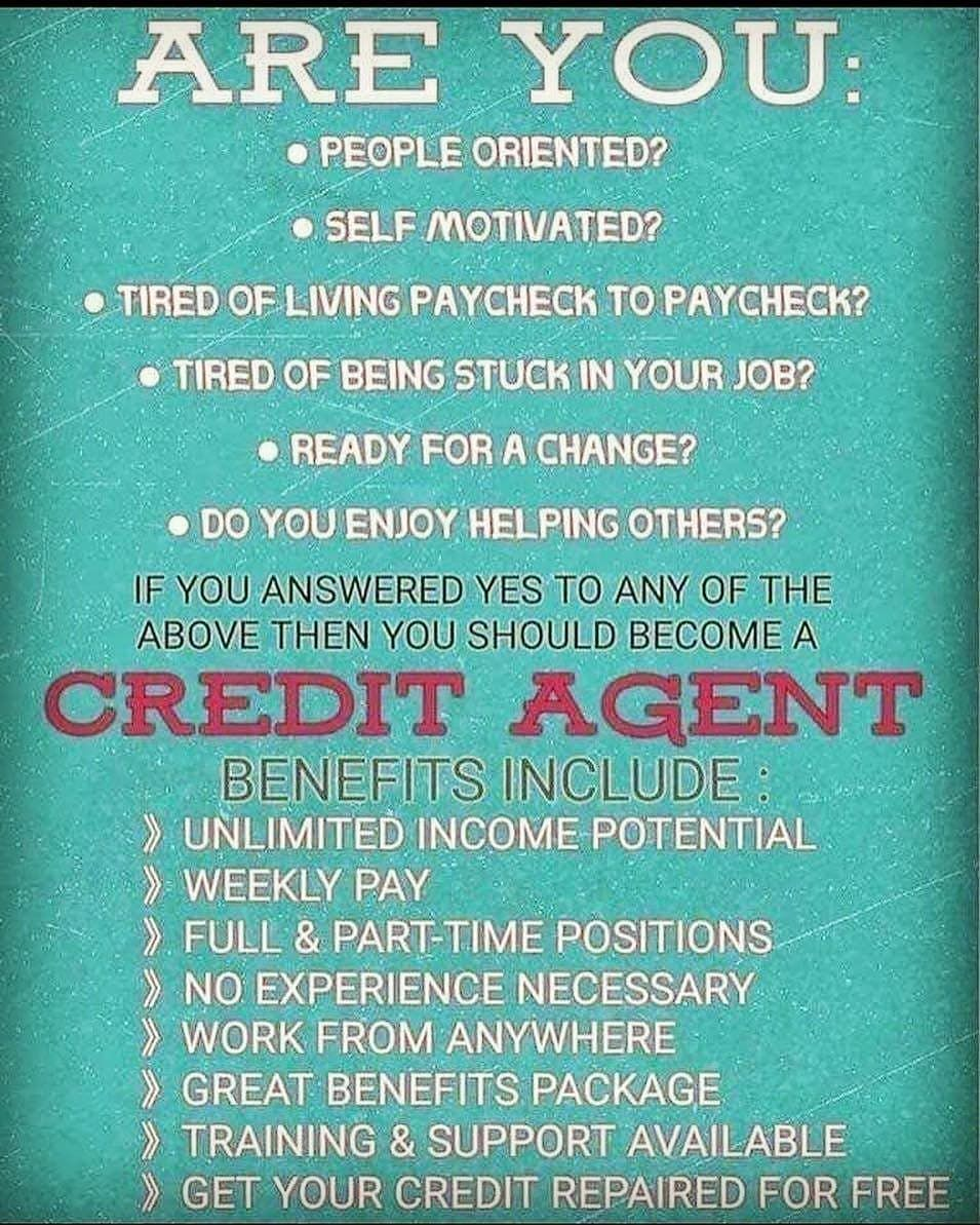 Bad credit? Im here to help you boost rebuild and restore