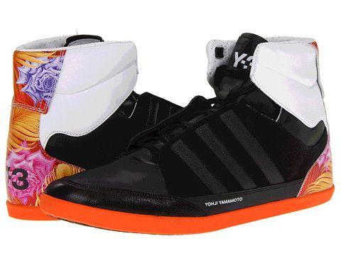 adidas y 3 di yohji yamamoto honja alto nera / grafica / in bianco