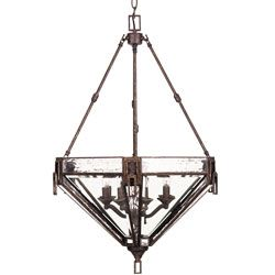 @Overstock - This Labyrinth pendant light fixture adds a beautiful accent to any room. This 8-light fixture features an antique patina finish and a clear water glass shades.http://www.overstock.com/Home-Garden/Labyrinth-8-light-Foyer-Pendant-Light-Fixture/4704333/product.html?CID=214117 $72.99