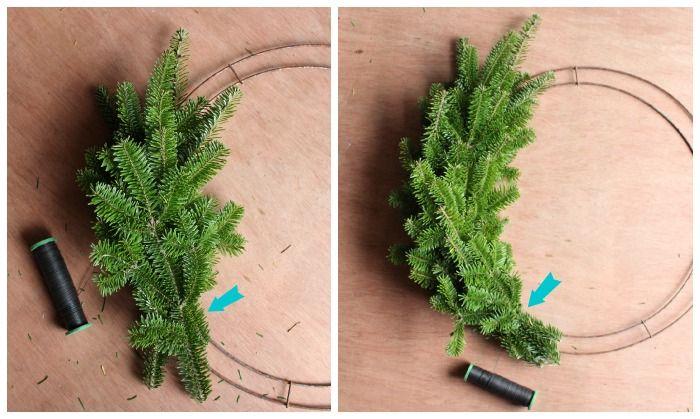 Photo of Wie man einen traditionellen Weihnachtskranz macht | FYNES DESIGNS
