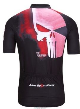111da6f93 Punisher Men s The Short Sleeve Cycling Jersey