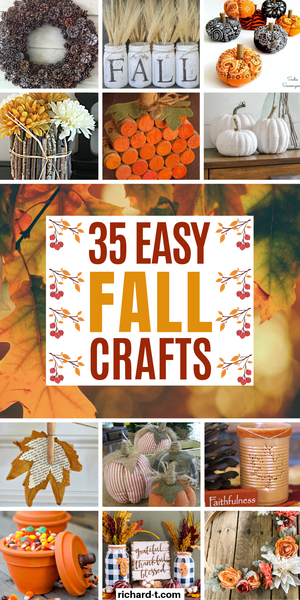 35 Best Diy Fall Crafts For Adults You Need To Make Easy