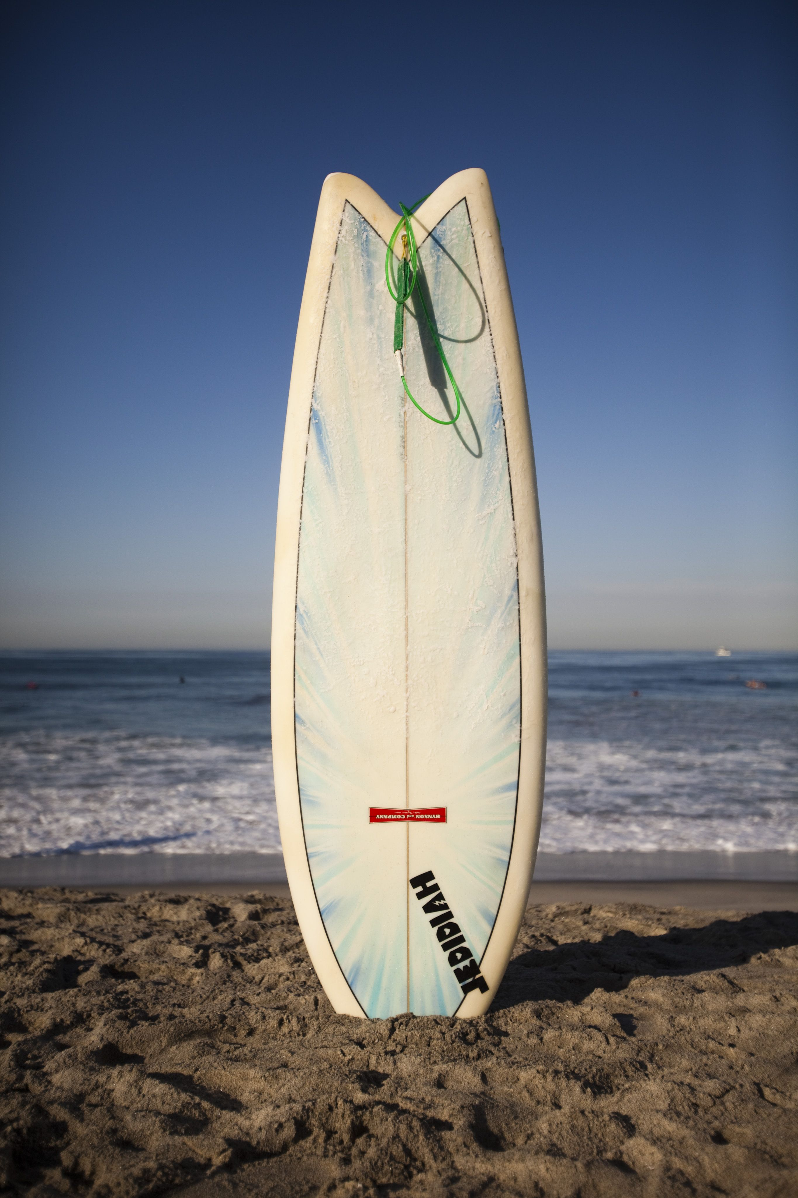 A board waiting for itu0027s surfer at