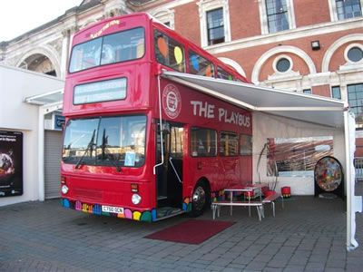 The Playbus Company Commercial Playbus Designers Double Decker Bus London Bus Double Deck Bus