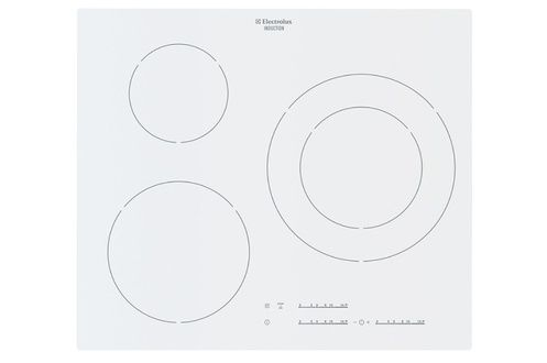 Table induction electrolux ehm6532iow blanc ehm6532iow - Table induction posable 2 foyers ...
