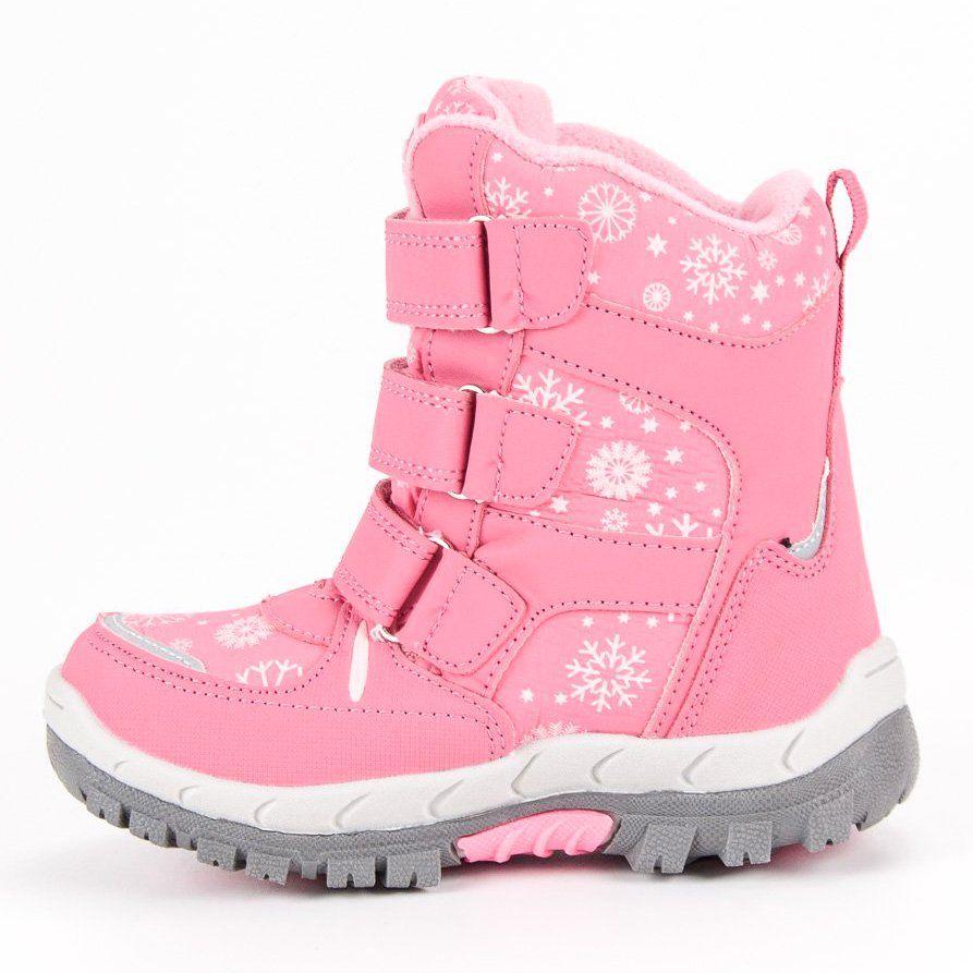 Kozaki Dla Dzieci Americanclub American Club Rozowe Sniegowce American Combat Boots Boots Army Boot