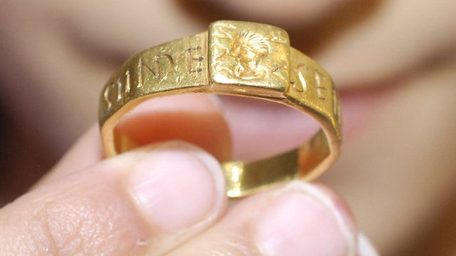 IS THIS the One Ring that inspired them all? This cursed ancient Roman ring may have launched Tolkien on his imaginative quest.