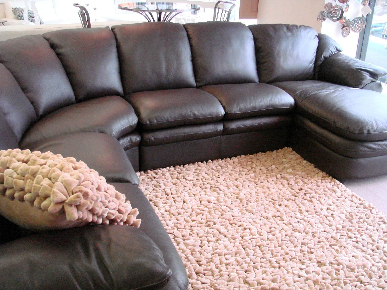 Shiny Leather Sectional For Sale Leather Couches For Sale