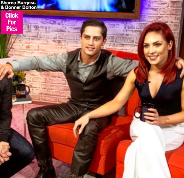 'I'm not dating anyone': DWTS star Bonner Bolton says he's '100% single' despite despite rumors of romance with partner Sharna Burgess