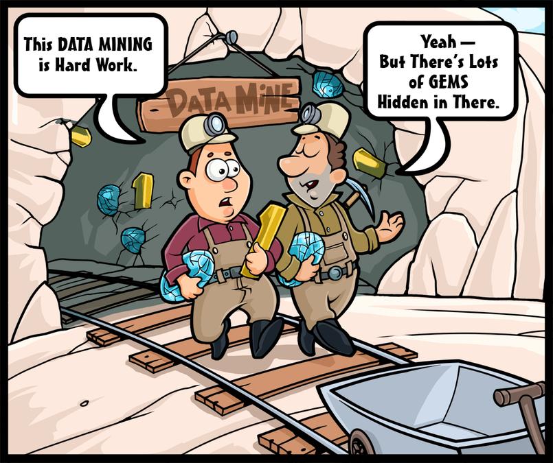Simple colored Cartoon -