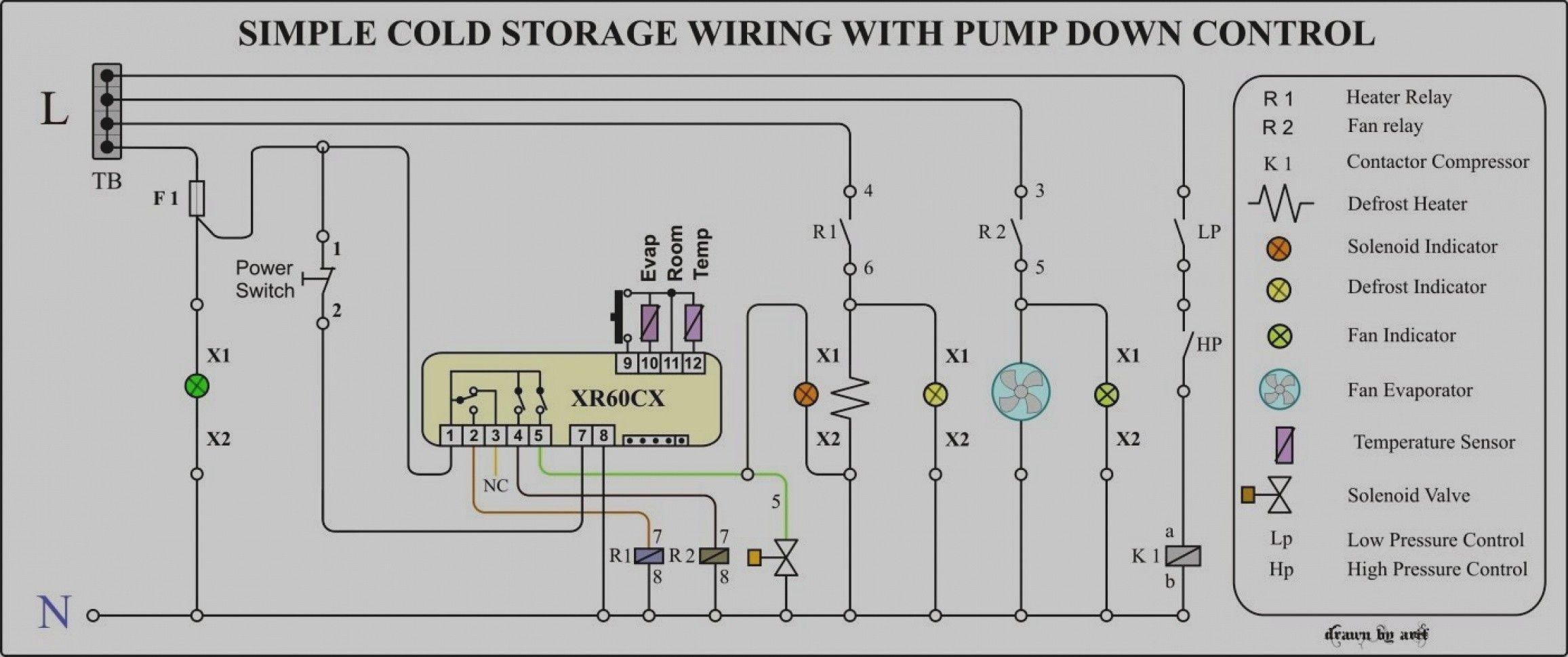 Unique Wiring Diagram for Ac Capacitor diagramsample