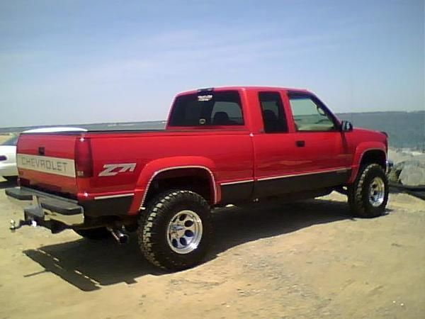Red Chevy K1500 Google Search Chevy Trucks Chevy 1500 Pickup
