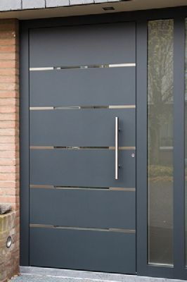prachtige voordeuren van kunststof of aluminium vromans bouw minimalist doors pinterest. Black Bedroom Furniture Sets. Home Design Ideas