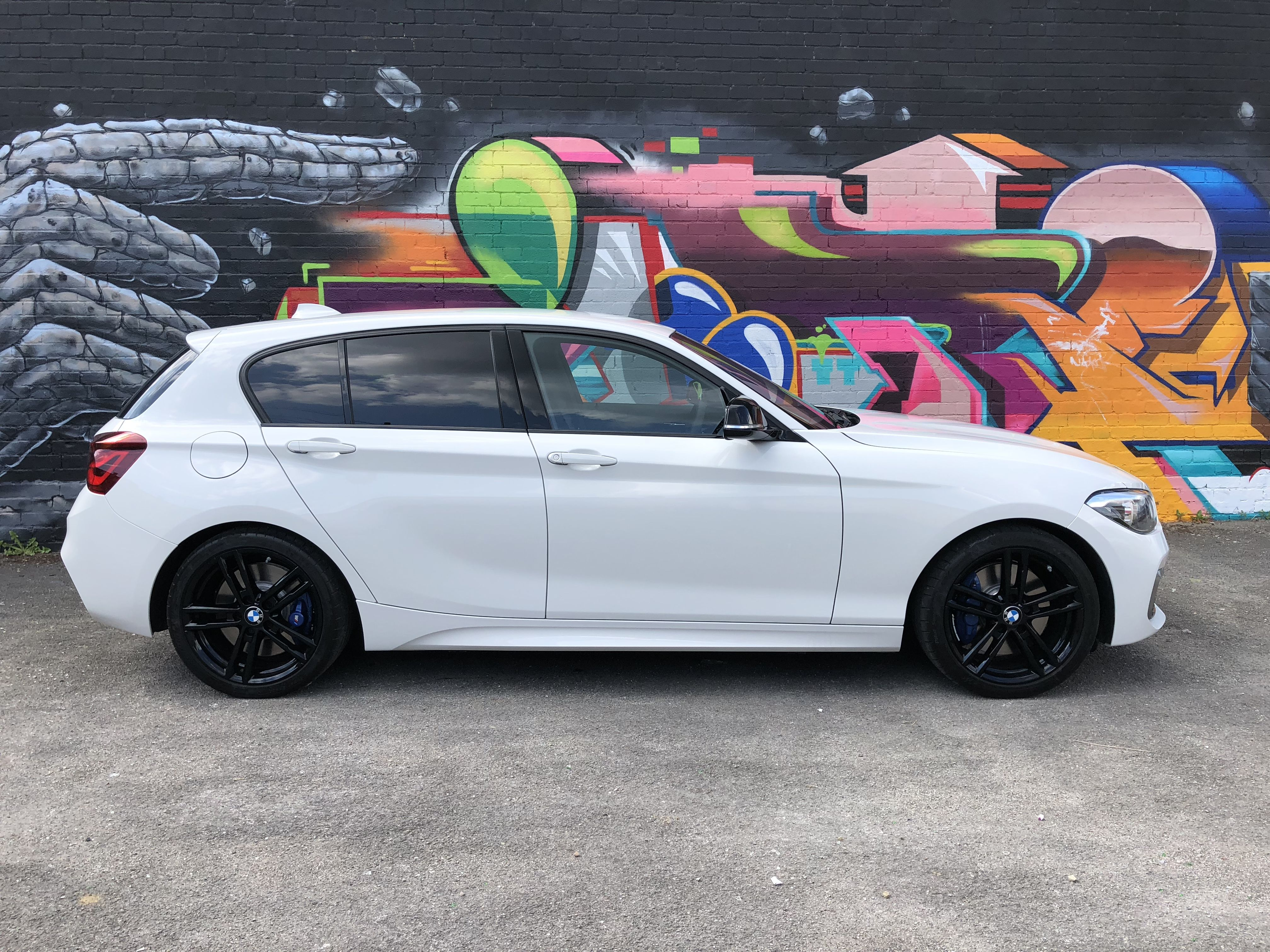 White M140i Shadow Edition With Images Bmw 1 Series Bmw Cars