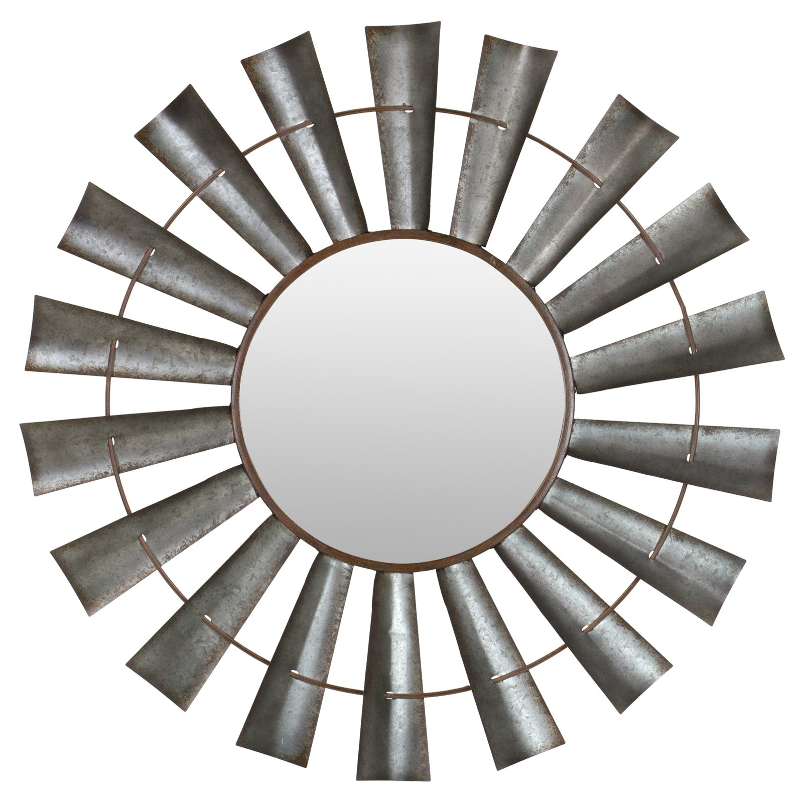 Aspire Home Accents Bloomfield Windmill Wall Mirror