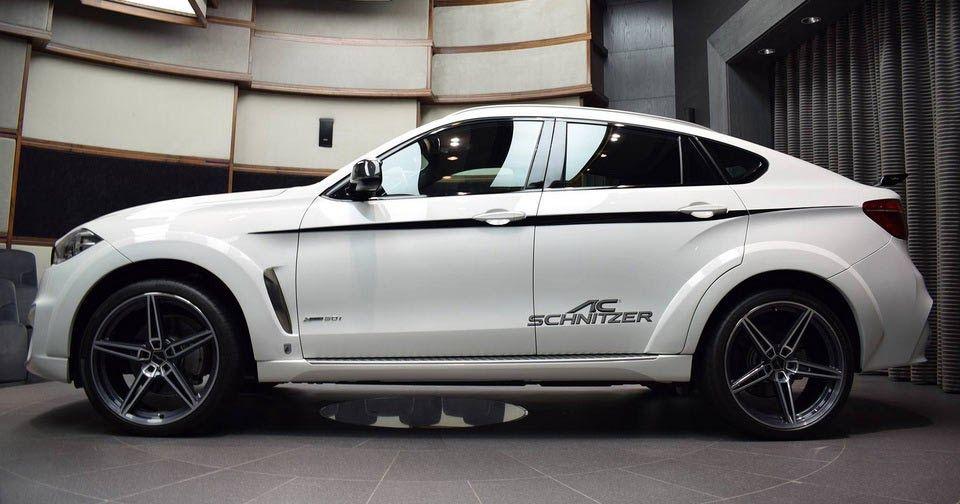 Widebody Bmw X6 Xdrive50i By Ac Schnitzer Is An Attention Grabber Carscoops Bmw X6 Bmw Bmw X Series