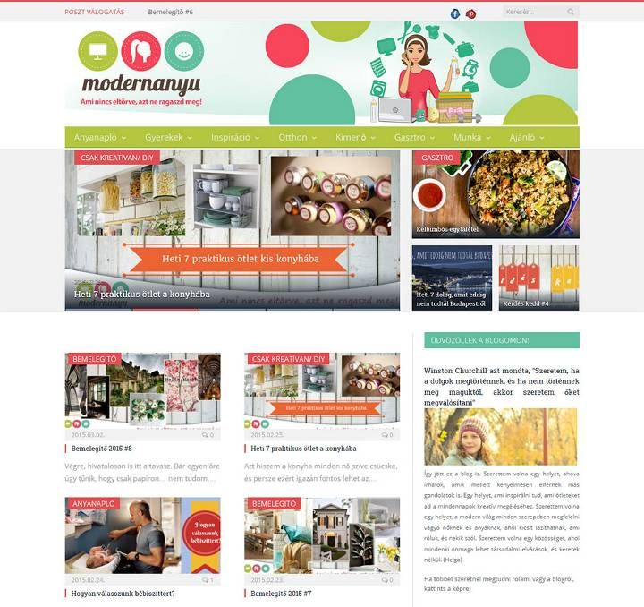 A superwoman's news page, wordpress theme reforming work
