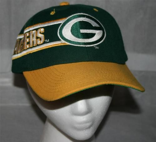 9b55ba399f5 Vintage GREEN BAY PACKERS FOOTBALL DREW PEARSON SNAPBACK CAP Hat-RARE-FREE  SHIP