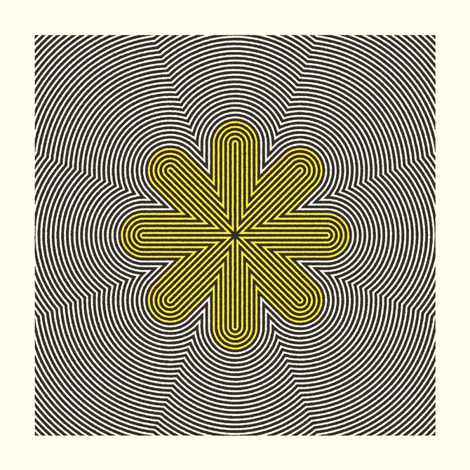 Contours Print Series - excites | Graphic Designer | Simon C Page