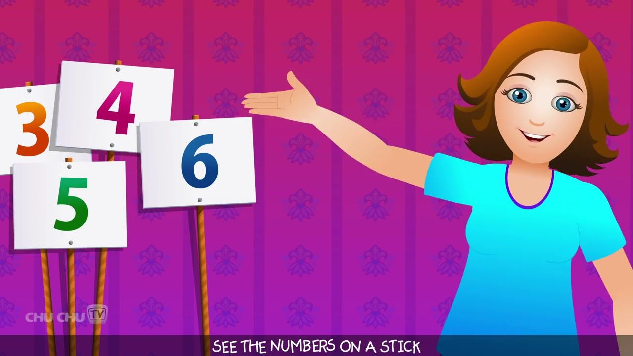 ChuChu TV Numbers Song NEW Short Version Number Rhymes For