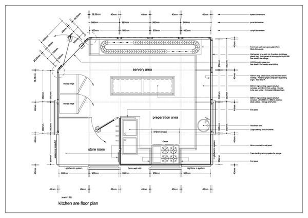 Restaurant Kitchen Area Floor Plan image for restaurant kitchen floor plan design ideas