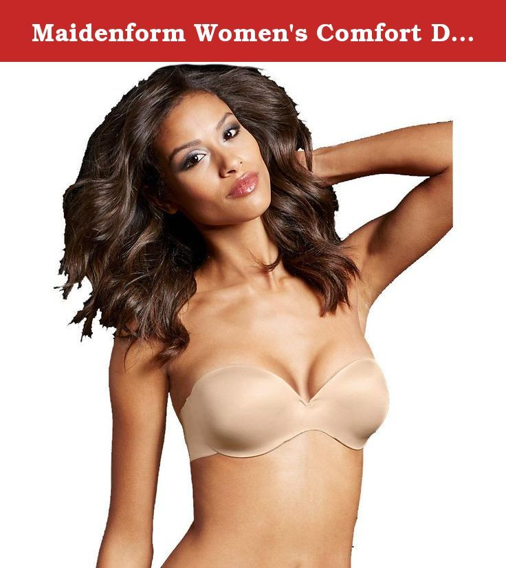 66c64f0711a29 Maidenform Women s Comfort Devotion Custom Lift Strapless Bra Latte  Lift 32B. Get Lifted Up Not Strapped Down