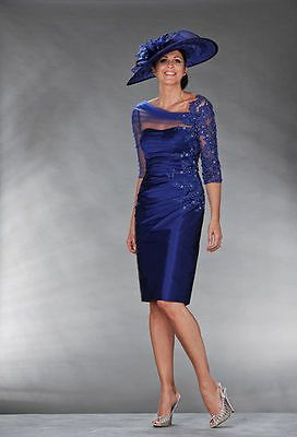 New Mother Of The Bride gown Knee-Length Suits&Outfits dress free jacket/coat