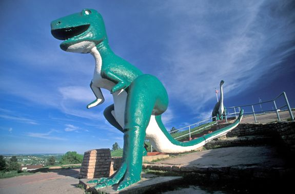 Dinosaur Park Rapid City South Dakota I Went There As A Child Then Took My Kids Back When I Got Older Dinosaur Park Badlands South Dakota Yellowstone Trip