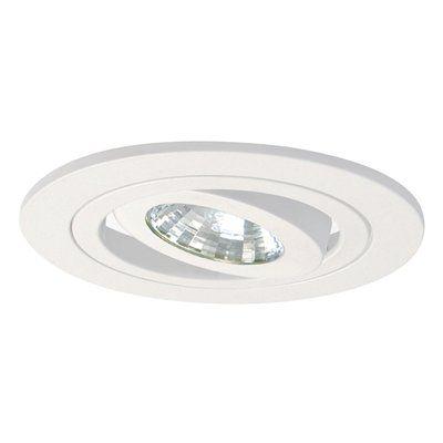 Halo Lighting Recessed Lighting Trim 995gup 4 In Satin White Gimbal Recessed Lighting Trim Recessed Can Lights Lighting